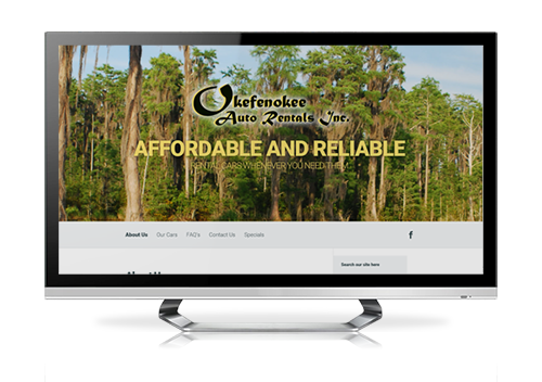 serva+ website design with monthly payments based in waycross ga