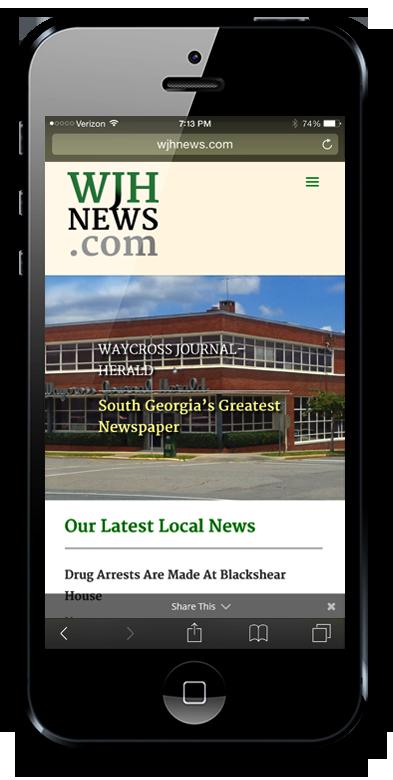 go2serva mobile compatible & mobile responsive websites