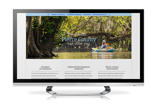 serva authority website design based in waycross ga