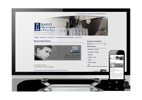 business website design Bailey Monument