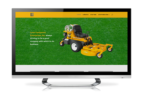business website design Lee Outdoor Power