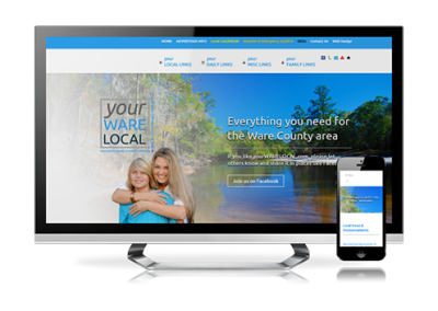 community website design – yourWARElocal
