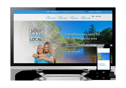 community website design – yourWARElocal